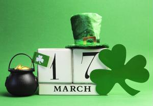 calendar in irish theme